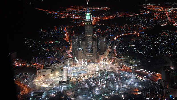 makkah clock tower picture