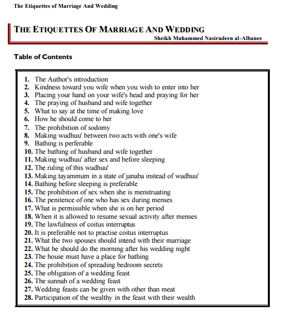 Rules and guidelines for Groom to follow right after Marriage