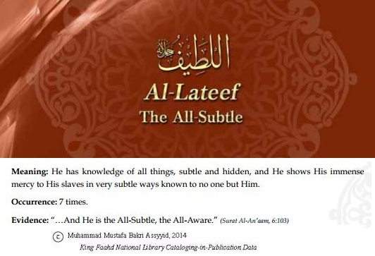 Allah's names - Al-Lateef