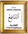 An-Nafi - Who is Allah