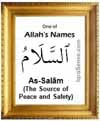 As-Saam - Who is Allah