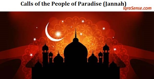 Calls of the People of Paradise (Jannah)