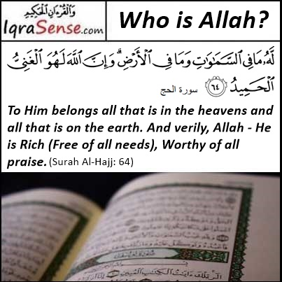 Surah Hajj Verse 64 - Allah is free from all Need