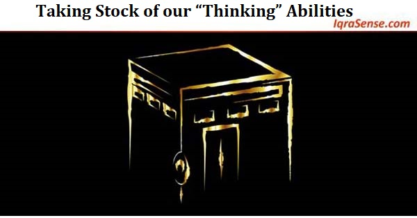 "Taking Stock of our ""Thinking"" Abilities"