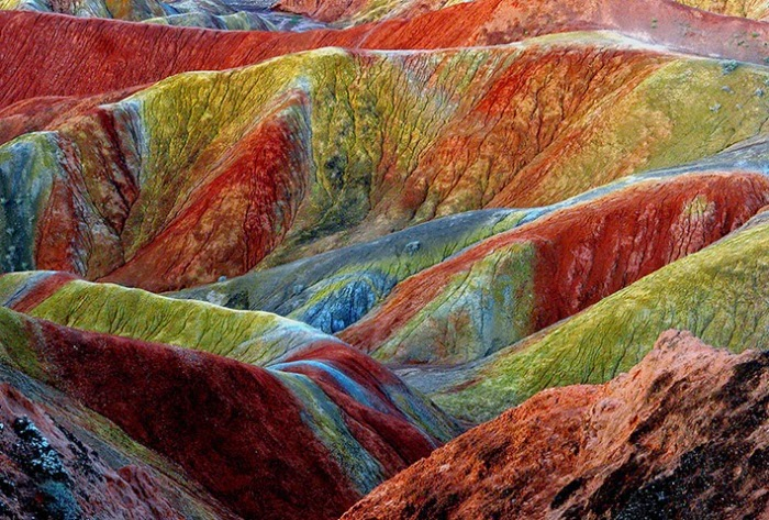 rainbow mountains quran
