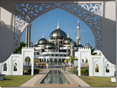 Malaysia crystal mosque