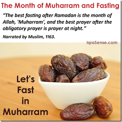islam on About the month of Muharram (Sacred Islamic Month)
