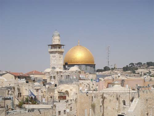 jerusalem islam holy land
