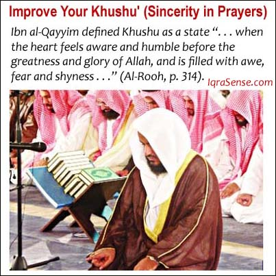 improve your khushu salat