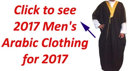men arabic clothing