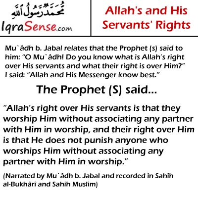 Allah rights and believers rights