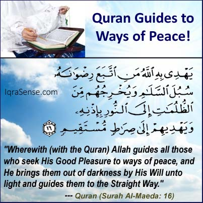What is the Quran? Allah describes the Quran in the Quran