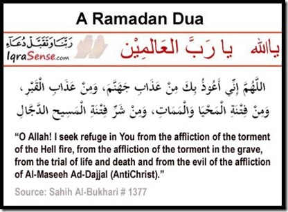 dua for ramadan months and lailatulqadr nights