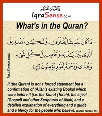 what is in the Quran
