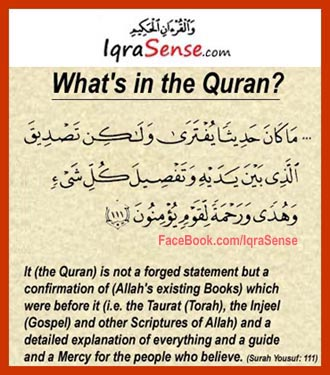 whats in the quran