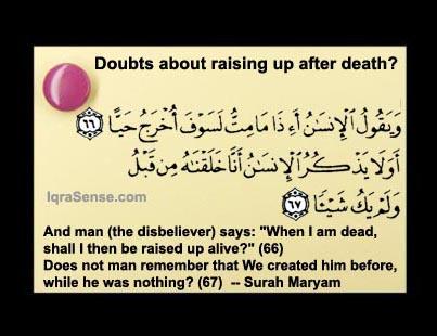 death islam beliefs