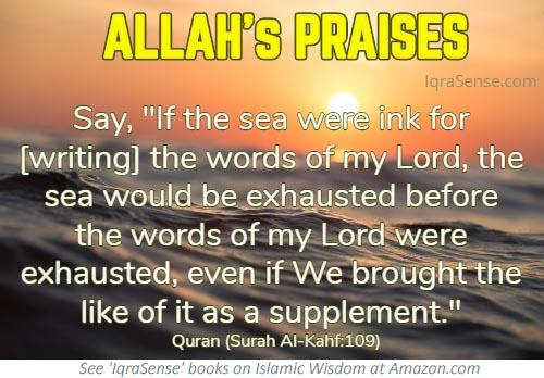 Allah's Praises