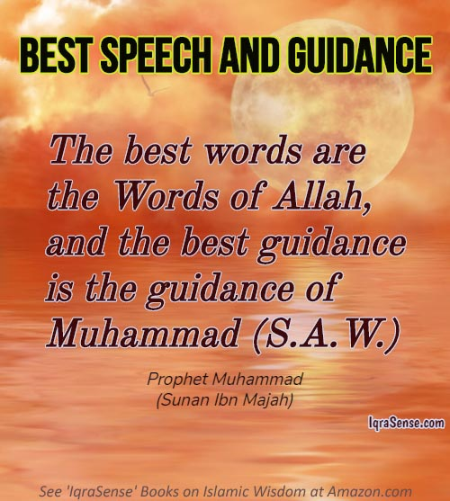 Haidth about Best Speech and Guidance