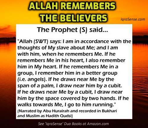 Allah Remembers the Believers
