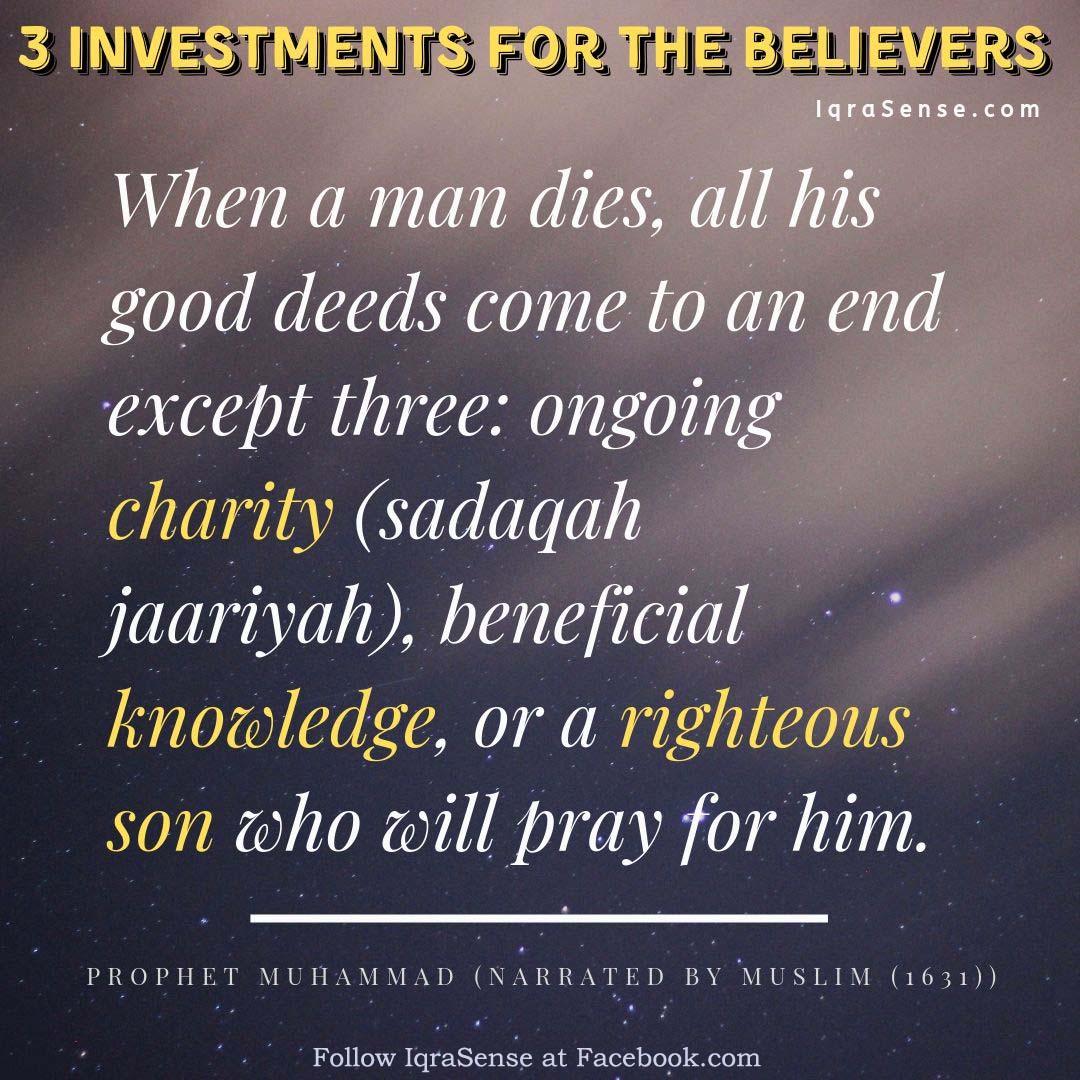 Sadqah al-Jariyah charity